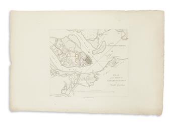 (CHARLESTON.) Tarleton, Banastre. Plan of the Siege of Charlestown in South Carolina.