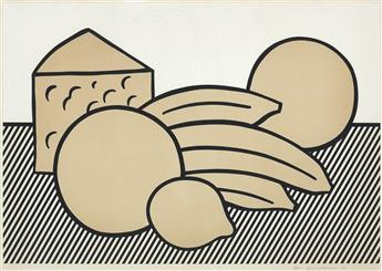 ROY LICHTENSTEIN Yellow Still Life.
