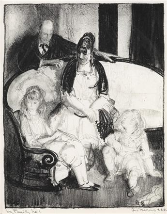 GEORGE BELLOWS My Family, First Stone.