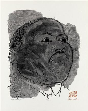 BEN SHAHN Martin Luther King