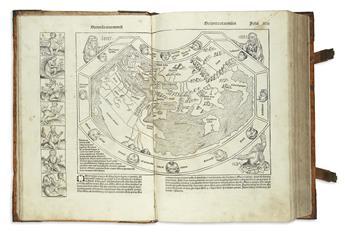 (NUREMBERG CHRONICLE.) Schedel, Hartmann. Liber Cronicarum cum Figuris et Ymaginibus ab Inicio Mundi.