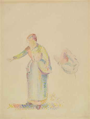 HENRI-EDMOND CROSS (Douai 1856-1910 Var) The Sower.