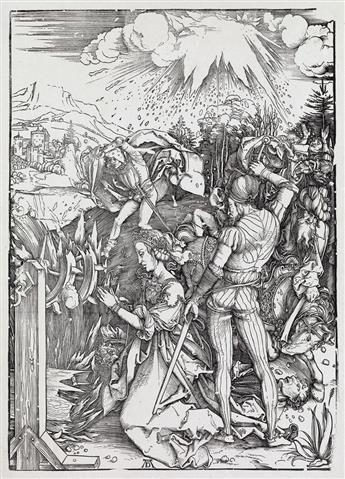 ALBRECHT DÜRER Three woodcuts.