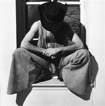 ROBERT MAPPLETHORPE (1946-1989) Victor Huston.