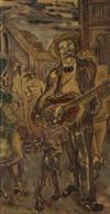JOSEPH DELANEY (1904 - 1991) Harlem, Sunday Morning.