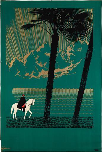 NIKOLAY ZHUKOV (1908-1973). [CAUCASUS.] 1936. 39x26 inches, 101x68 cm. Intourist, [USSR.]