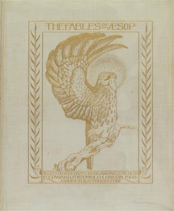 (DETMOLD, EDWARD J.) Aesop. The Fables of Aesop.