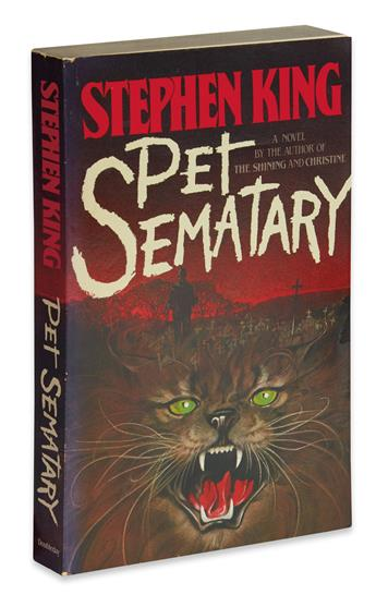 KING, STEPHEN. Pet Sematary.