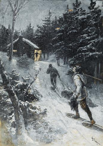 HENRY SANDHAM. The Moose Hunt.
