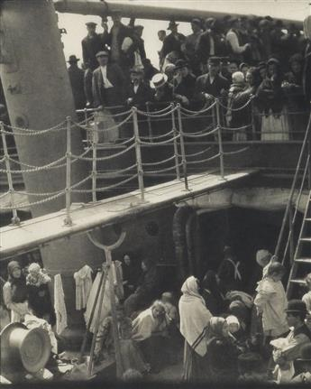 ALFRED STIEGLITZ (1864-1946) The Steerage, from Camera Work Number 36.
