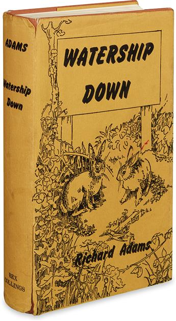 (CHILDRENS LITERATURE.) ADAMS, RICHARD. Watership Down.