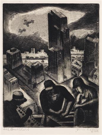 JAMES LESESNE WELLS (1902 - 1992) Builders.