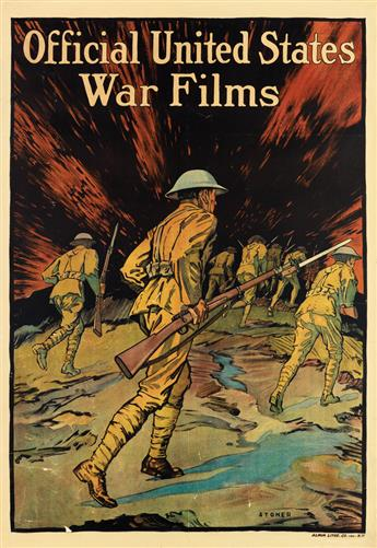 VARIOUS ARTISTS. [WORLD WAR I.] Group of 3 posters. Sizes vary.