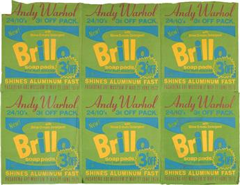 ANDY WARHOL (after) Brillo Soap Pads Banner