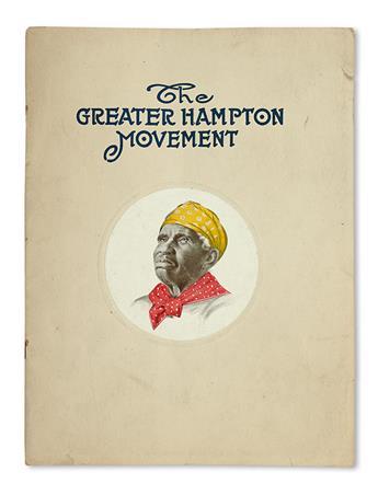 (EDUCATION.) HAMPTON INSTITUTE. The Greater Hampton Movement.