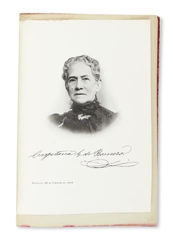 (MEXICO.) Romero, José María. Biografia de la Señora Doña Cayetana Grageda de Romero.