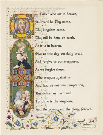 ARTHUR SZYK. The Lords Prayer.