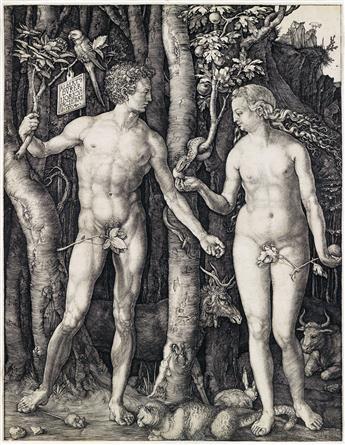 ALBRECHT DÜRER Adam and Eve.