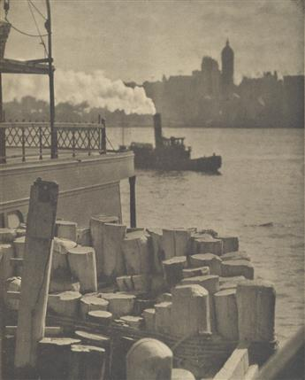 ALFRED STIEGLITZ (1864-1946) Selection of 10 choice photogravures from Camera Work Numbers 36 (8) and 41 (2).
