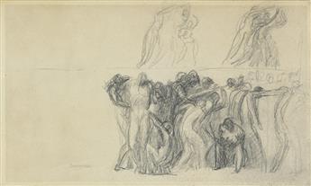 GEORGE ROMNEY (Dalton-in-Furness 1734-1802 Kendal) Figure Studies (Mythological Scene).