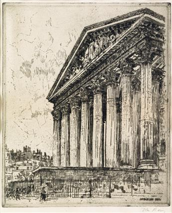 JOHN MARIN La Madeleine, Paris.