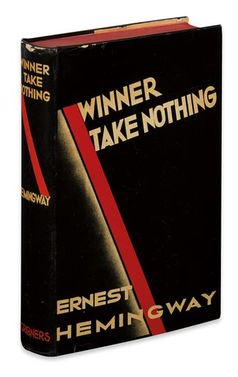 HEMINGWAY, ERNEST. Winner Take Nothing.