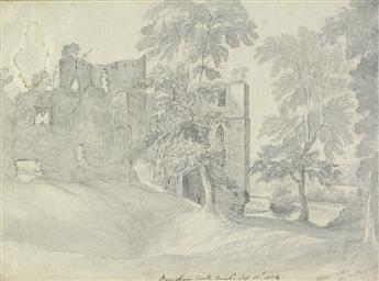 ENGLISH SCHOOL, EARLY 19TH CENTURY A View of Bougham Castle, Penrith, Cumbria.