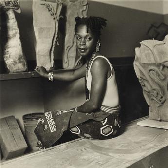 DAWOUD BEY (1953- ) The artist Sana Musasama.