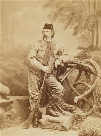 J.A. SCHOLTEN (active 1870s) Portrait of Gen. George A. Custer (1839-1877).