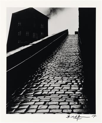 BILL BRANDT (1904-1983) Snicket in Halifax.