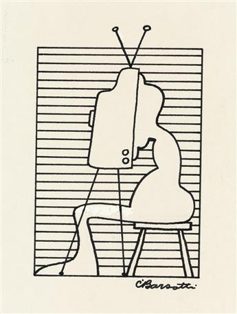 (CARTOON.) CHARLES BARSOTTI. Television.