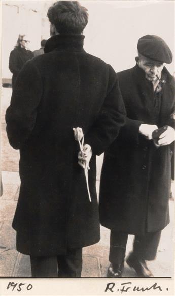ROBERT FRANK (1924- ) Tulip/Paris.