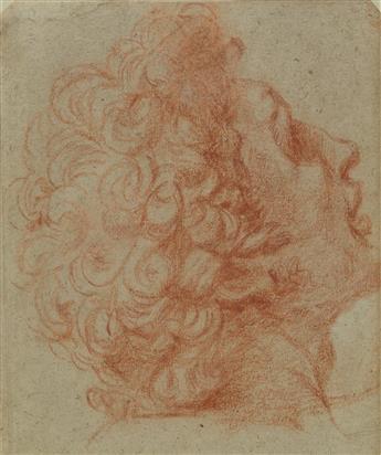 NORTH ITALIAN SCHOOL, 17TH CENTURY A Study of a Head in Profile.