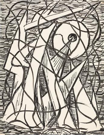 ABRAHAM WALKOWITZ Three abstract studies.