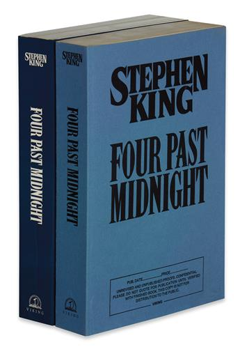 KING, STEPHEN. Four Past Midnight.