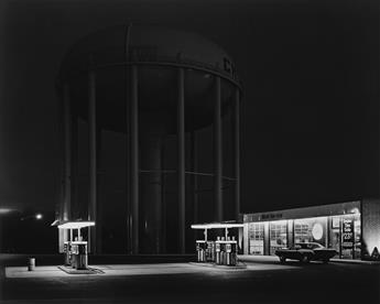 GEORGE A. TICE (1938- ) Petits Mobil Station, Cherry Hill, NJ.