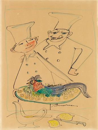 LUDWIG BEMELMANS. Does Chef Find the Pheasant Pleasant?