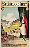 WALTER TILL (DATES UNKNOWN) SEE IRELAND FIRST. Circa 1925. 40x25 inches. Helys Limited, Dublin.