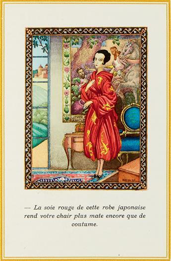 (BIBLE.) SZYK, ARTHUR. Benoit, Pierre. Le Puits de Jacob.