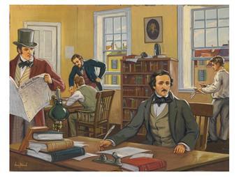 HENRY KURT STOESSEL. Edgar Allan Poe.