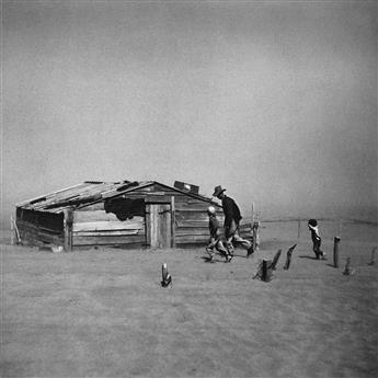 ARTHUR ROTHSTEIN (1915-1985) Dust Storm, Cimarron County, Oklahoma.