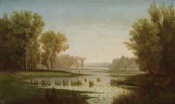 J.G. HULETT Hudson River Landscape.