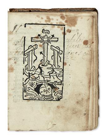 INCUNABULA  BENEDICTUS, Saint. Regula.  1489/90 + GREGORIUS I, Pope. Dialogorum liber secundus de vita . . . S. Benedicti.  1490