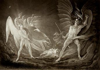 MILTON, JOHN; JOHN MARTIN. The Paradise Lost.