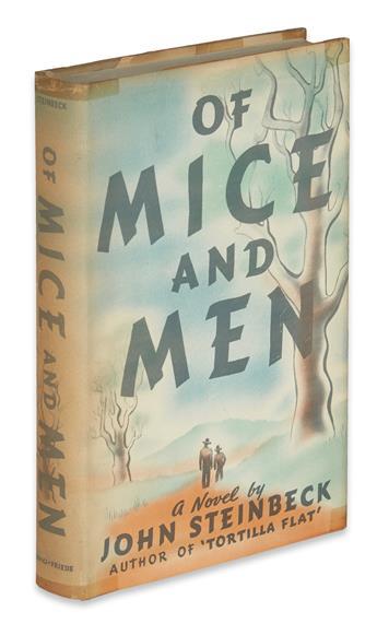 STEINBECK, JOHN. Of Mice and Men.