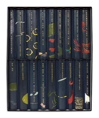 FLEMING, IAN. The Centenary Edition of the Works of Ian Fleming.