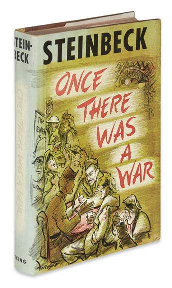 STEINBECK, JOHN. Once There Was A War.
