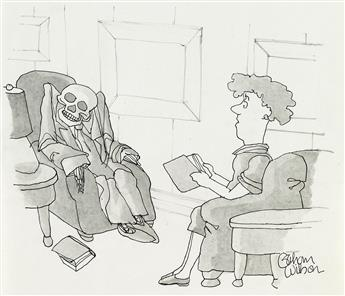 GAHAN WILSON. (THE NEW YORKER / CARTOON) Youve changed, Howie.