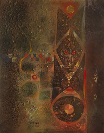 ALEXANDER SKUNDER BOGHOSSIAN (1937 - 2003) Untitled (Abstraction).