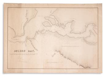 (CALIFORNIA.) Sherman, W.T.; Hammond, R.P.; and Blair, James. Suisun Bay.